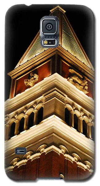 Galaxy S5 Case featuring the photograph Vegas At Nite by Maggy Marsh