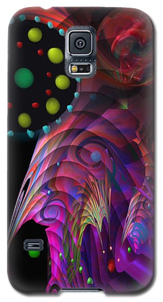 Galaxy S5 Case featuring the painting Vegas Dreams by Kevin Caudill