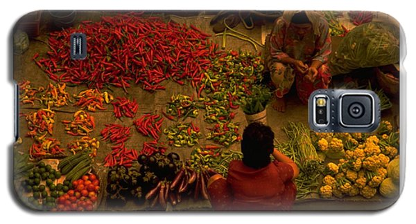 Vegetable Market In Malaysia Galaxy S5 Case