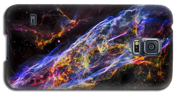Veil Nebula - Rainbow Supernova  Galaxy S5 Case