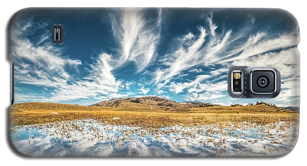 Veins Of Earth And Sky // Yellowstone National Park  Galaxy S5 Case