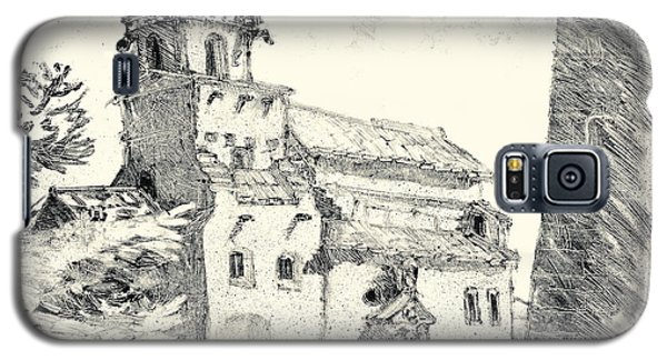 Galaxy S5 Case featuring the painting Venasque Provence by Martin Stankewitz