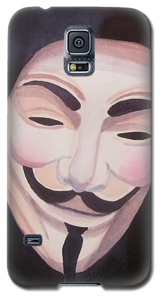 Galaxy S5 Case featuring the painting Vendetta by Teresa Beyer