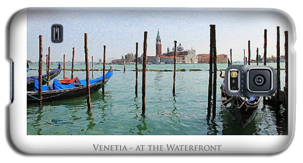 Venetia - At The Waterfront Galaxy S5 Case
