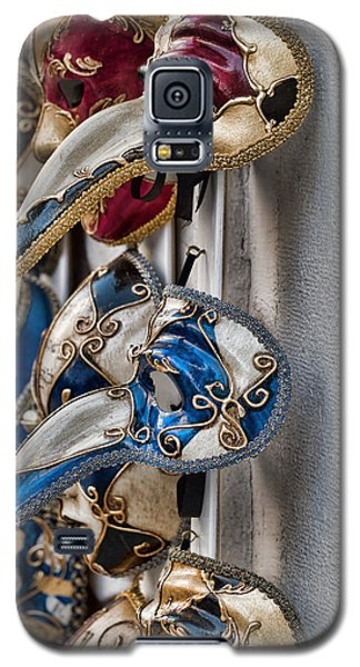 Venetian Carnival Masks Galaxy S5 Case by Kim Wilson