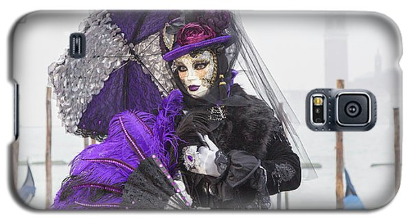 Venetian Lady In Purple Galaxy S5 Case