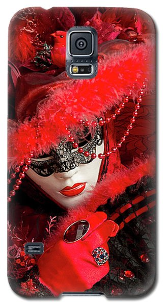 Venetian Lady In Red II  Galaxy S5 Case