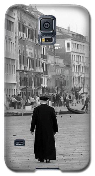 Venetian Priest And Gondola Galaxy S5 Case