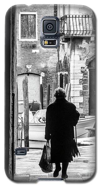 Venetian Silhoutte Lady Galaxy S5 Case