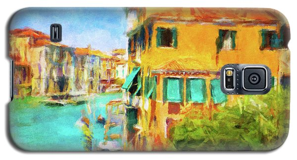 Galaxy S5 Case featuring the photograph Venezia Afternoon by Connie Handscomb