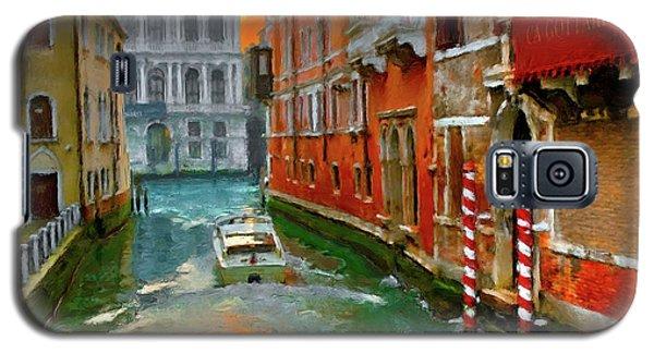 Galaxy S5 Case featuring the photograph Venezia. Ca'gottardi by Juan Carlos Ferro Duque