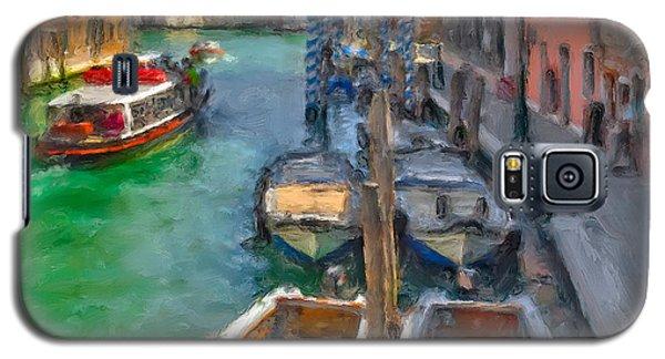 Galaxy S5 Case featuring the photograph Venezia. Cannaregio by Juan Carlos Ferro Duque