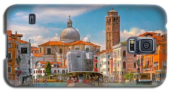 Venezia. Fermata San Marcuola Galaxy S5 Case by Juan Carlos Ferro Duque