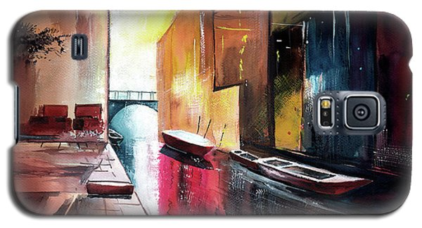 Galaxy S5 Case featuring the painting Venice 1 by Anil Nene