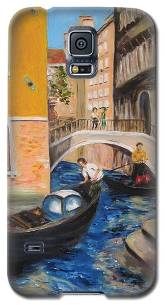 Venice Afternoon Galaxy S5 Case by Lisa Boyd