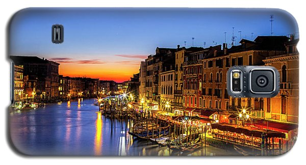 Galaxy S5 Case featuring the photograph Venice At Twilight by Andrew Soundarajan