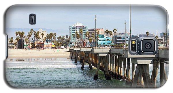 Venice Beach From The Pier Galaxy S5 Case by Ana V Ramirez
