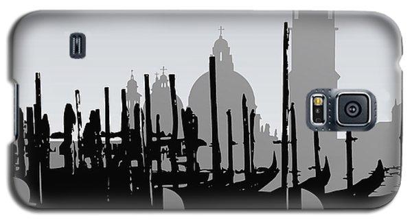 Venice Black And White Galaxy S5 Case