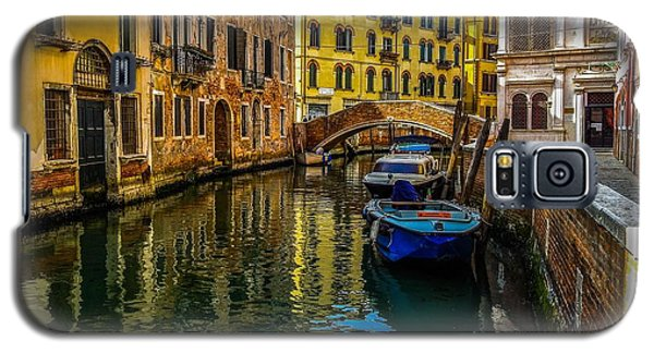 Venice Canal In Italy Galaxy S5 Case by Marilyn Burton
