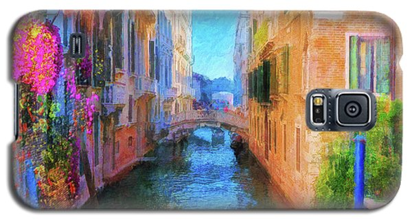 Venice Canal Painting Galaxy S5 Case