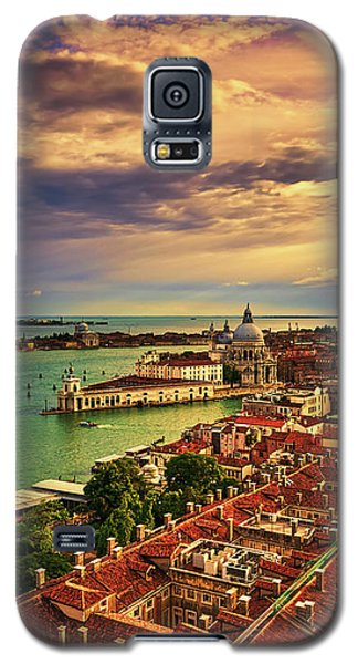 From The Bell Tower In Venice, Italy Galaxy S5 Case