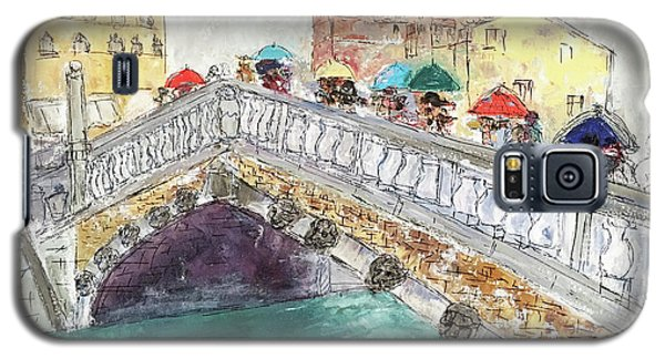 Venice In The Rain Galaxy S5 Case by Barbara Anna Knauf