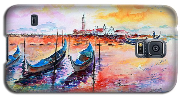 Venice Italy Gondola Ride Galaxy S5 Case