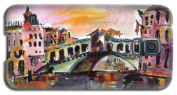 Venice Italy Silence Rialto Bridge Galaxy S5 Case