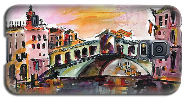 Venice Italy Silence Rialto Bridge Galaxy S5 Case