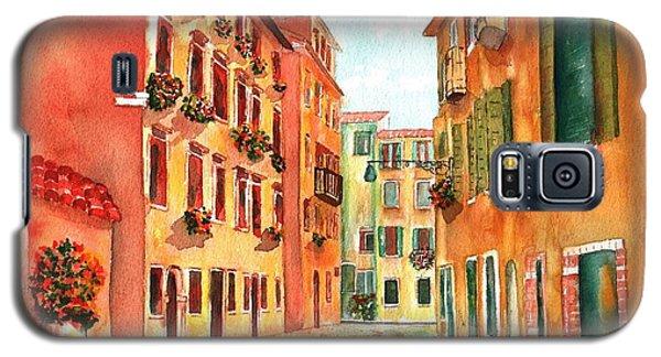 Venice Italy Street Galaxy S5 Case by Sharon Mick