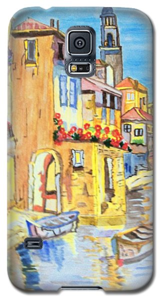 Venice On A Summer Afternoon Galaxy S5 Case by Connie Valasco