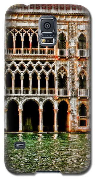 Galaxy S5 Case featuring the photograph Venice Palace  by Harry Spitz