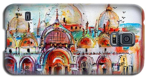 Venice Piazza Saint Marco Basilica Galaxy S5 Case