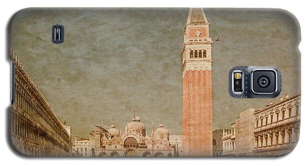 Galaxy S5 Case featuring the photograph Venice, Italy - Piazza San Marco by Mark Forte