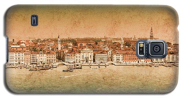 Galaxy S5 Case featuring the photograph Venice, Italy - Riva Degli Schiavoni by Mark Forte