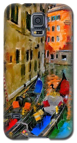 Galaxy S5 Case featuring the photograph Venice. Splendid Svisse by Juan Carlos Ferro Duque