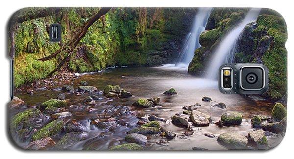 Vennford Waterfall On Dartmoor Galaxy S5 Case