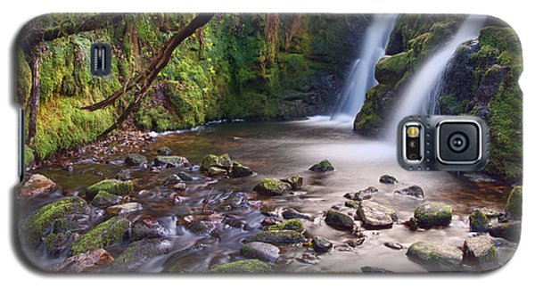 Vennford Waterfall On Dartmoor Galaxy S5 Case