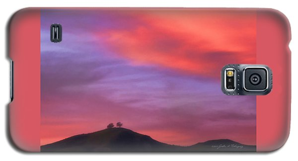 Ventura Ca Two Trees At Sunset Galaxy S5 Case by John A Rodriguez