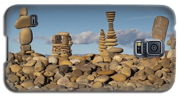 Ventura River Rock Art Galaxy S5 Case