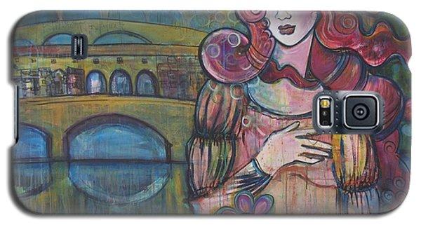 Venus And The Ponte Vecchio  Galaxy S5 Case