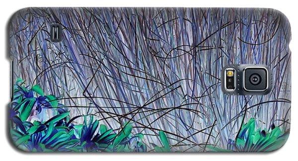 Venus Blue Botanical Galaxy S5 Case