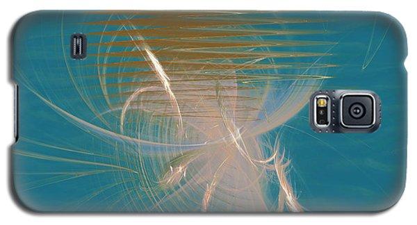 Galaxy S5 Case featuring the digital art Venus Born Out Of The Sea by Menega Sabidussi