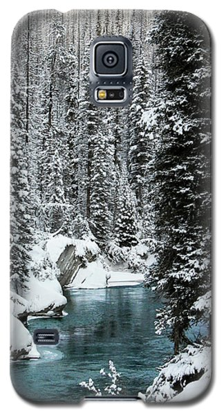 Verdant Creek - Winter 1 Galaxy S5 Case by Stuart Turnbull