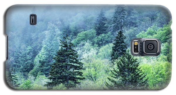 Verdant Forest In The Great Smoky Mountains Galaxy S5 Case