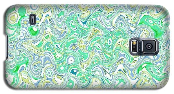 Verde Blue Galaxy S5 Case