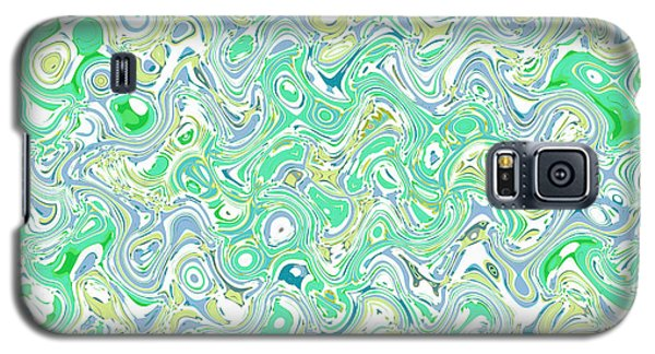 Verde Blue Galaxy S5 Case