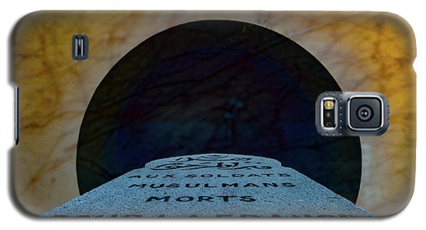 Galaxy S5 Case featuring the photograph Verdun, France - Muslim Memorial Marker by Mark Forte