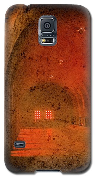 Galaxy S5 Case featuring the photograph Verdun, France - Ossuary Hall by Mark Forte