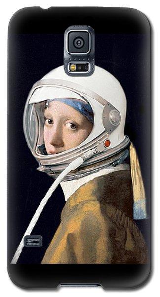 Vermeer - Girl In A Space Helmet Galaxy S5 Case